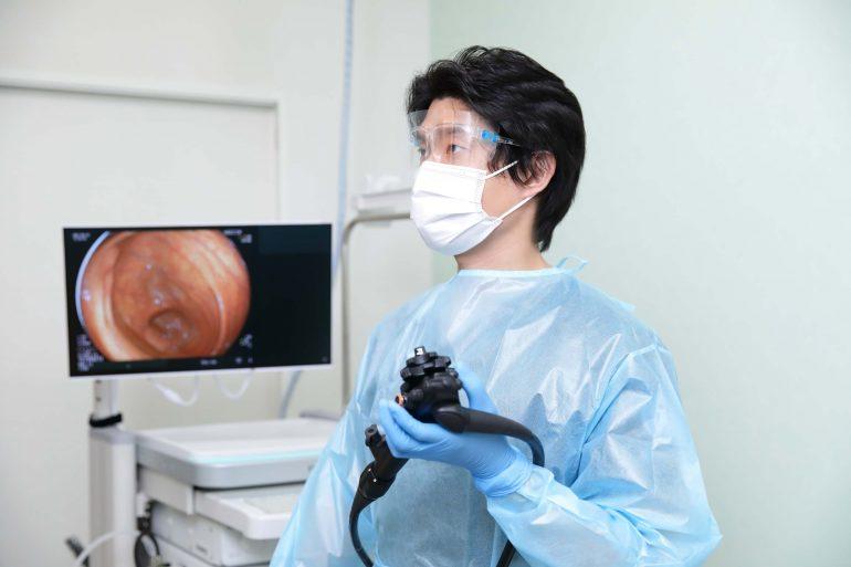 大腸カメラ風景